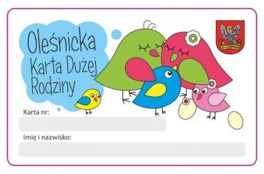 Oleśnicka Karta Dużej Rodziny